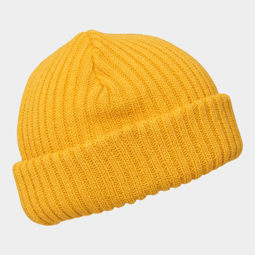 Thermal Thick Ribbed Beanie